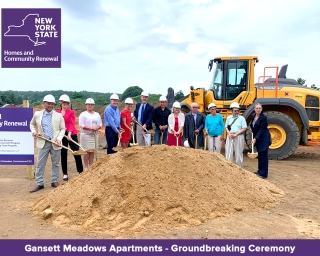 Gansett Meadows Groundbreaking